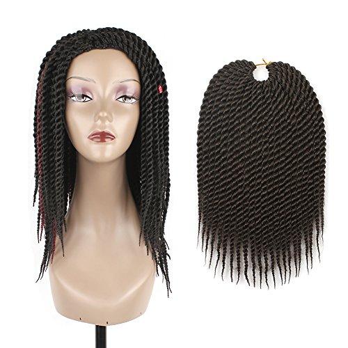 8pcs 12inch 22strands Senegalese Twist Hair Crochet Braids Synthetic
